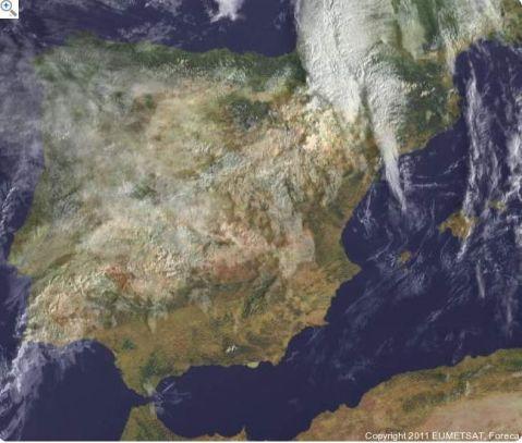 El tiempo a vista de satelite